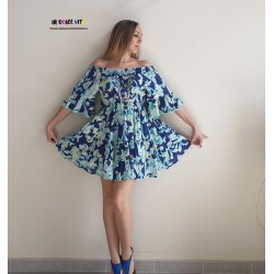 BLUE FIRENZE 732 DRESS OF...