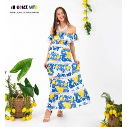 DRESS VOLANT COTTON FROM...