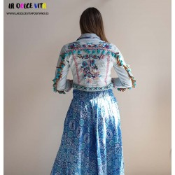 FLOWER JACKET OF ANTICA...