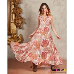 813 CORAL DRESS OF ANTICA...