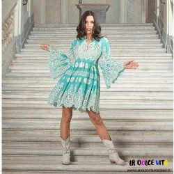 TURQUOISE AMALFI DRESS OF...