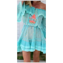 GRACIA TURQUOISE DRESS BY...