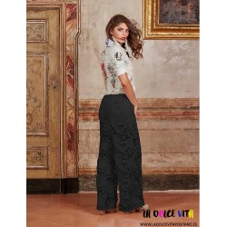 FLOWER PANTS ANTICA SARTORIA
