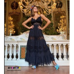 BLACK RAVELLO 6 DRESS OF...