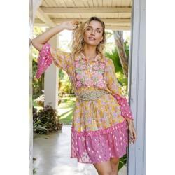 PINK JASMINA DRESS BY MISS...