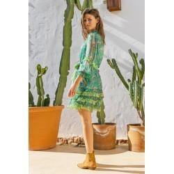 GREEN SHANIYA DRESS BY MISS...