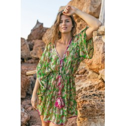 ROBE POOL VERT DE MISS JUNE