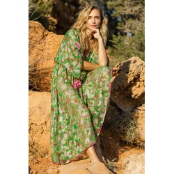 ROBE MAJESTY VERT DE MISS JUNE