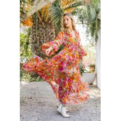 ORANGE BAILA DRESS BY MISS...