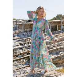 AQUA BAILA DRESS BY MISS JUNE