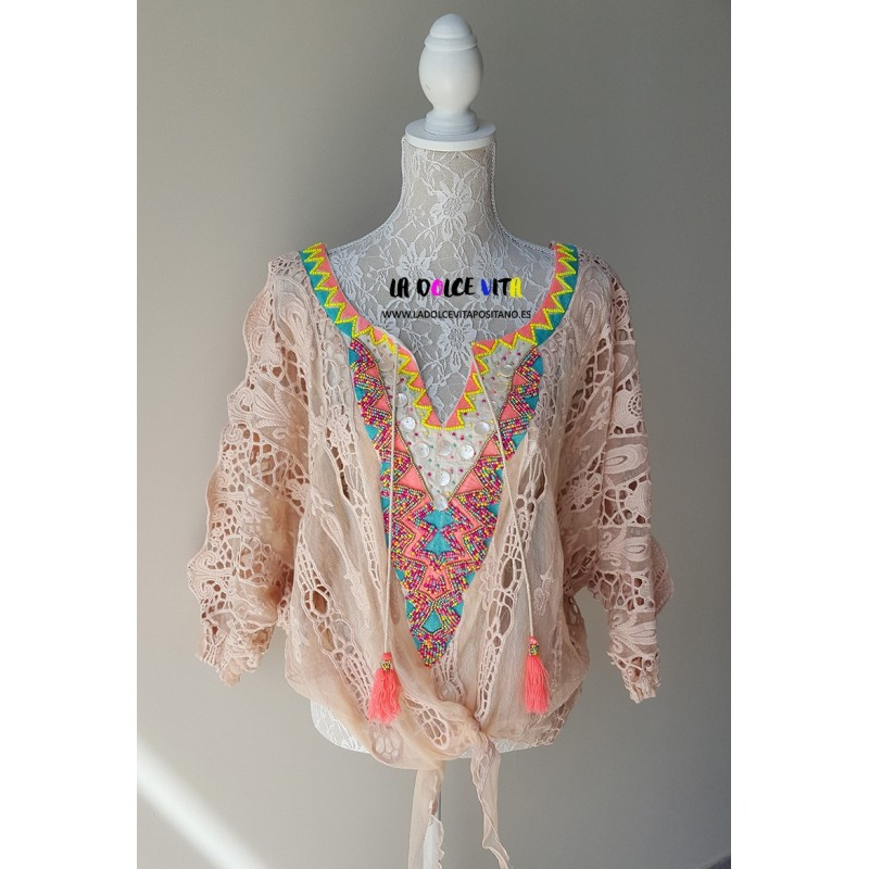 BLUSA MULTICOLORE 3 DI LAURIE & JOE