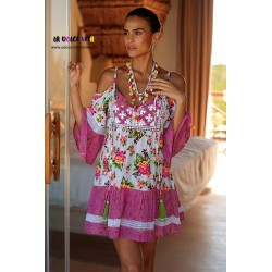 VESTIDO TROPICAL DE MISS JUNE