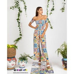 JUMPSUIT ZARINA FROM LUISA POSITANO