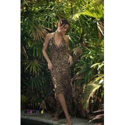 MOUNDA BEIGE DRESS BY MISS...